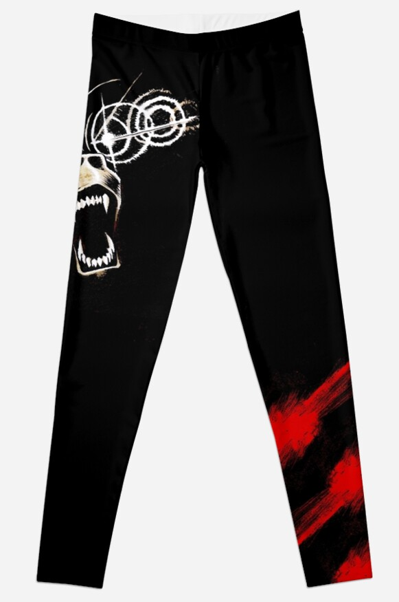 Demon Bear Leggings by rachelandmiles
