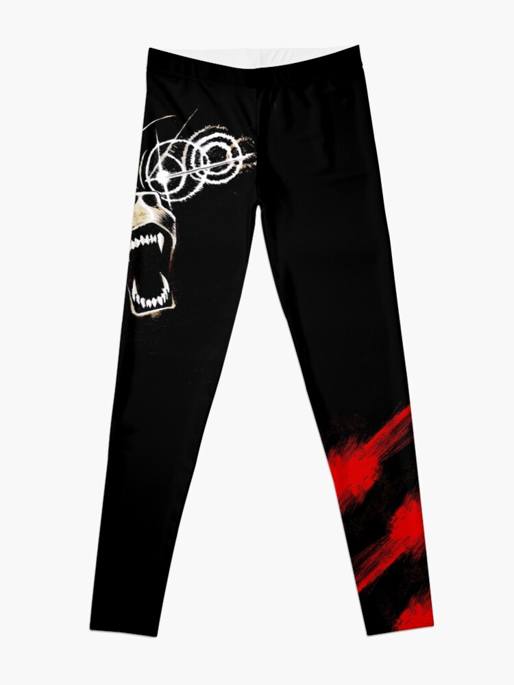 Alternate view of Demon Bear Leggings Leggings