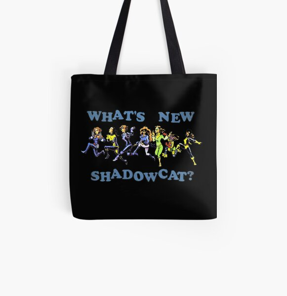 What's New, Shadowcat? All Over Print Tote Bag