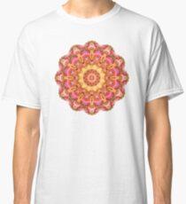 Be Free Mandala in Pink, Yellow and Purple Classic T-Shirt