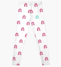 GEEK GIRL pattern Leggings