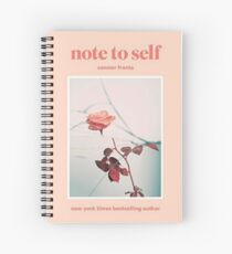Connor Franta Note to Self Spiral Notebook