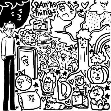 dan & phil - dan as things by DoodlesByAdzie