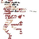 Elektra Quote Typography by whitchry9