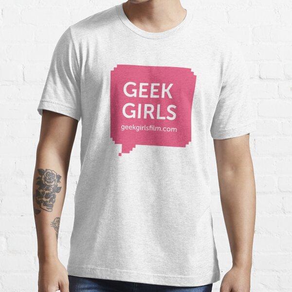 GEEK GIRLS logo Essential T-Shirt
