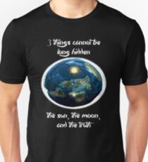 Buddha Quote - Flat Earth T-Shirt