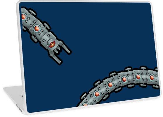 Destroyer Worm Illustration by GeekGasmShop