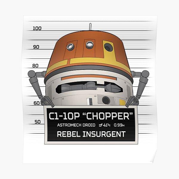 Rebel Droid Poster