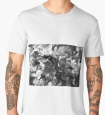 Blossoms black and white 2 Men's Premium T-Shirt