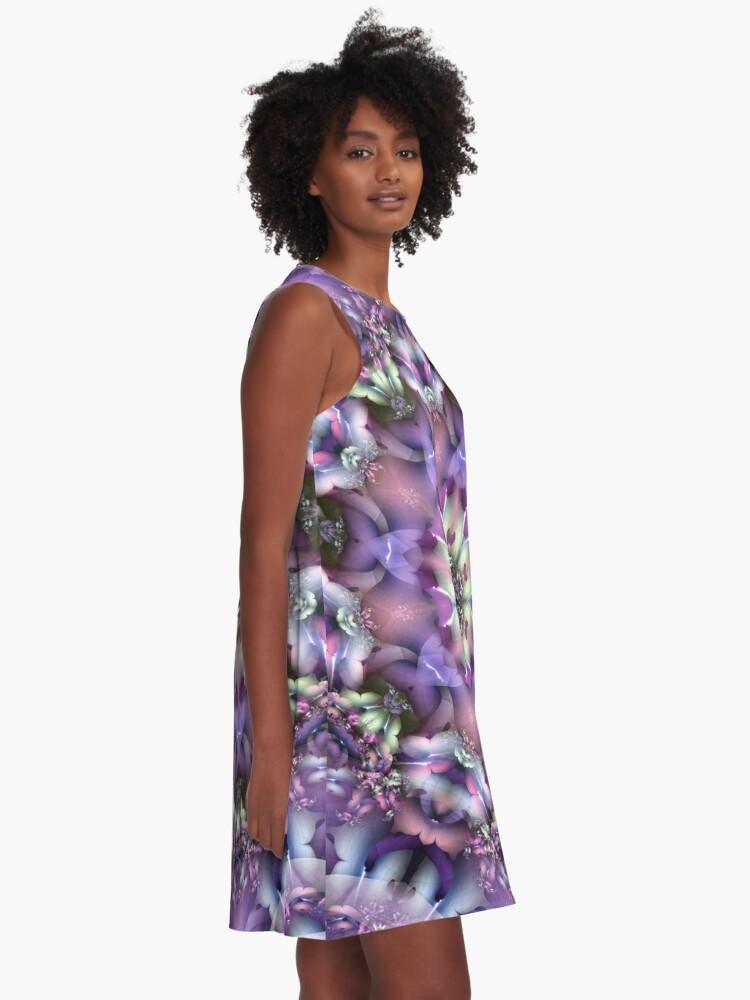 Alternate view of Lilac Mandala A-Line Dress