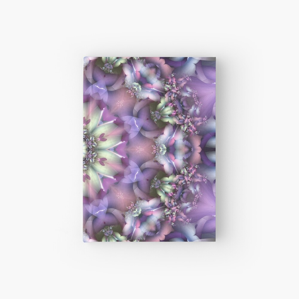Lilac Mandala Hardcover Journal