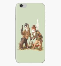 Steampunk Weasels iPhone Case