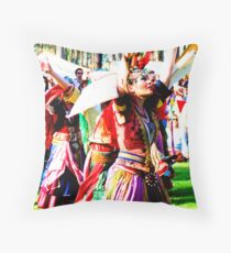 Abbey Tournament Throw Pillow