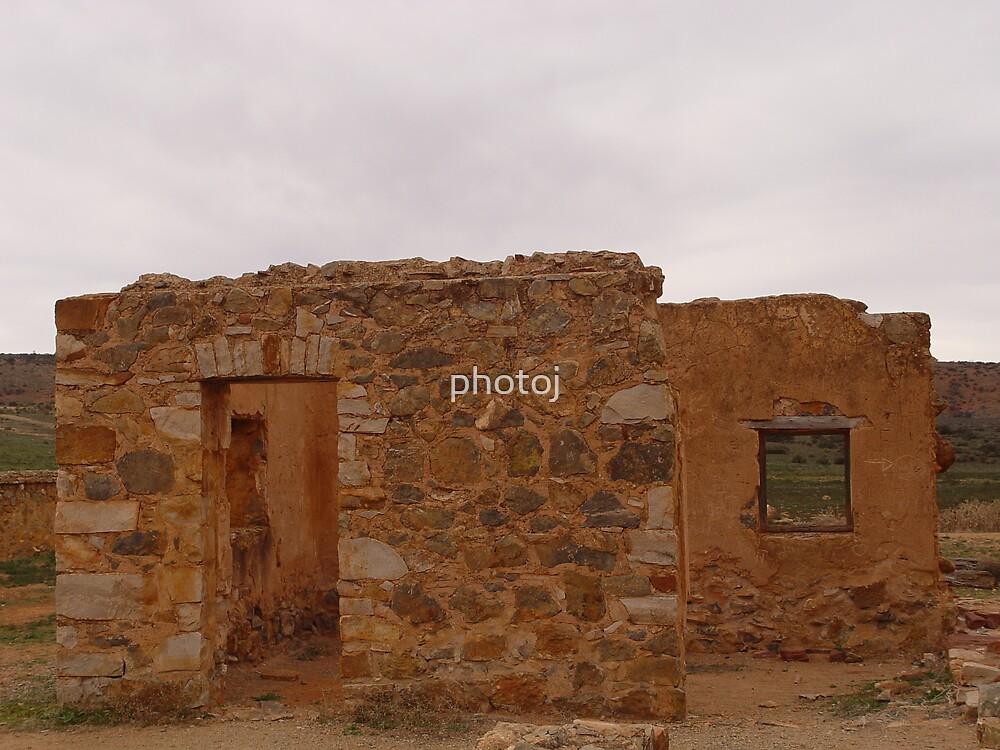 photoj S.A. Flinders Rangers ruin-homesteads  by photoj