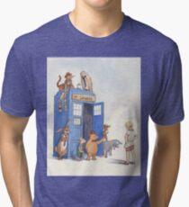 Doctor Pooh Tri-blend T-Shirt