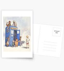 Doctor Pooh Postcards