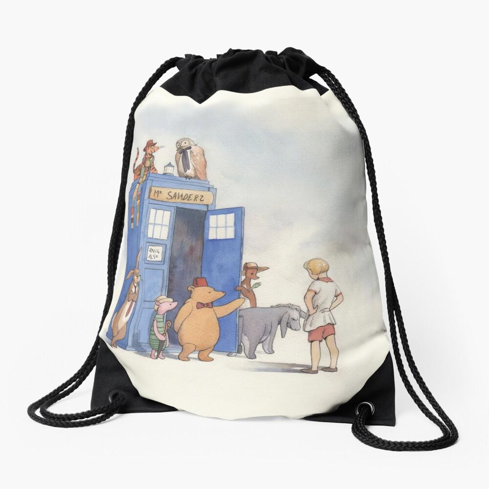 Doctor Pooh Drawstring Bag