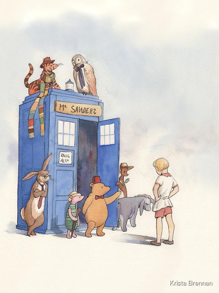 Doctor Pooh by kristabrennan