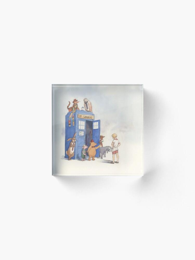 Alternate view of Doctor Pooh Acrylic Block
