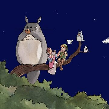 Totoro Forest Theme by kristabrennan