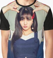 TWICE Jihyo - Signal Typography Graphic T-Shirt