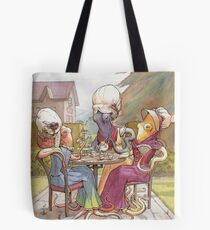 Low Tide High Tea Tote Bag