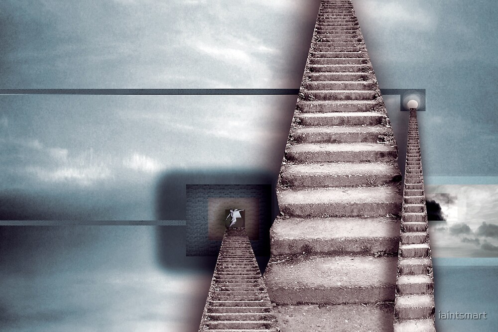 stairway by iaintsmart