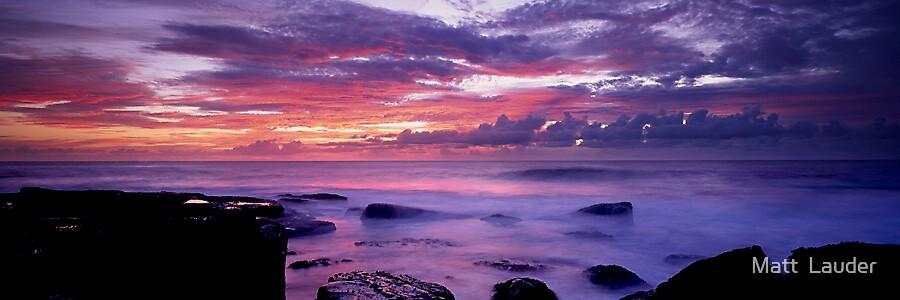 Terrigal Dawn by Matt  Lauder