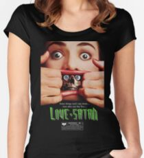 Say You Love Satan 80s Horror Podcast - Dead Alive Women's Fitted Scoop T-Shirt