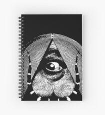 dali's all-dreaming eye Spiral Notebook