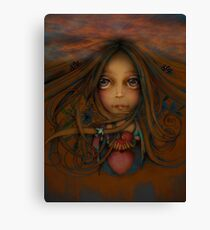Heart of the Earth Canvas Print
