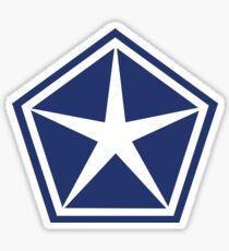 Vintage Chrysler Logo Shirt or Sticker Sticker