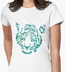 Tiger Number 6 Women's Fitted T-Shirt