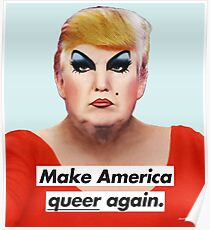 Póster Make America Queer Again