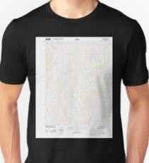 USGS TOPO Maps Iowa IA Guss 20130402 TM Unisex T-Shirt