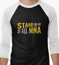 """""""Stand In Awe Of All Mna"""" Men's Baseball ¾ T-Shirt"""