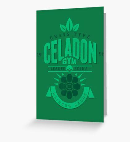Celadon Gym Greeting Card