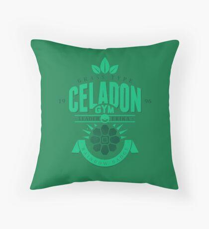Celadon Gym Throw Pillow