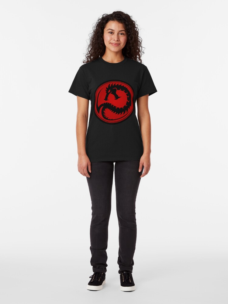 Alternate view of Draconis Combine pride Classic T-Shirt