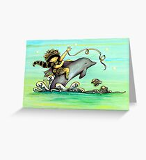 Sea Poppy Greeting Card