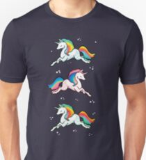 Rainbow Unicorns  Unisex T-Shirt