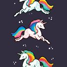 Rainbow Unicorns  by michelledraws