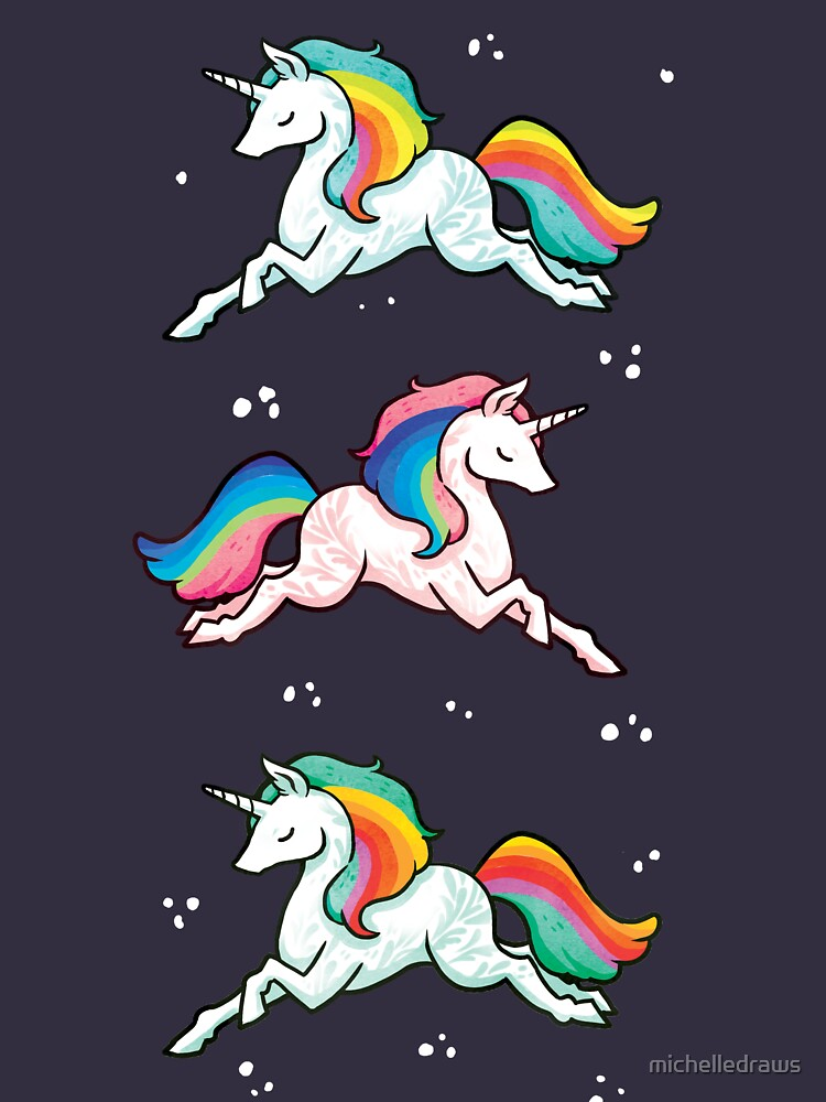 Rainbow Unicorns  | Unisex T-Shirt