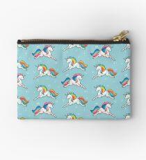 Rainbow Unicorns  Zipper Pouch