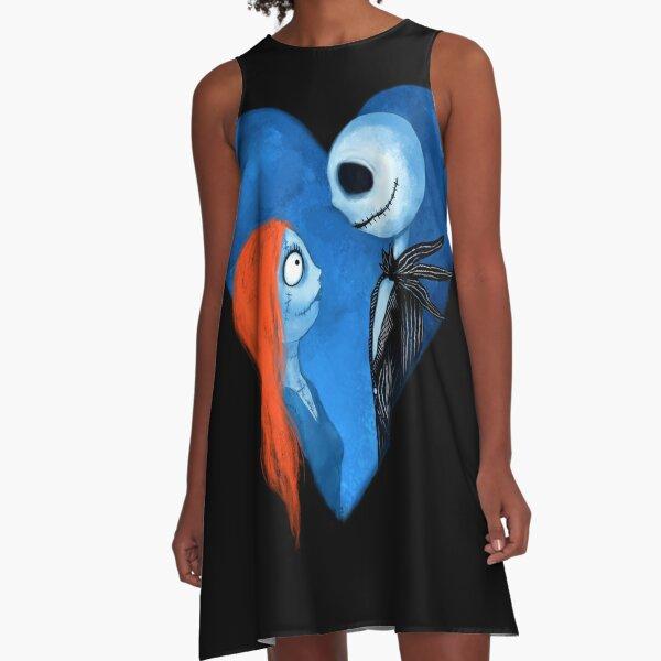 Sally und Jack A-Linien Kleid
