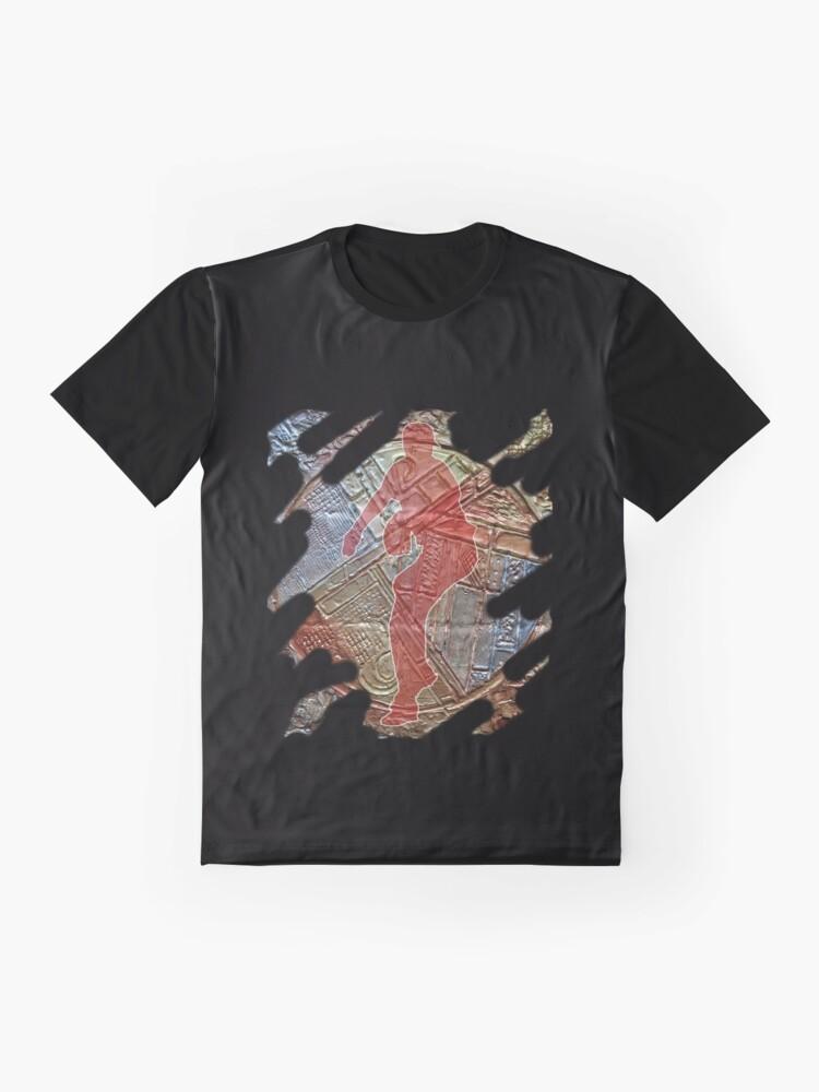 Alternate view of STRIKE THREE - BASEBALL PITCHER Graphic T-Shirt