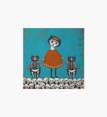 Frida and Cats Art Board