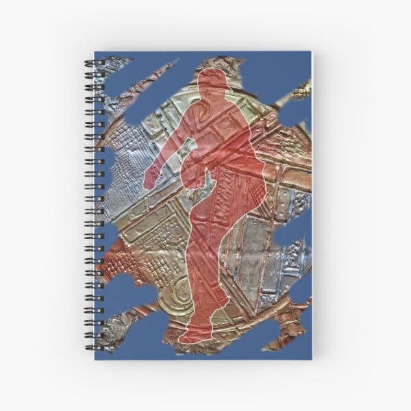 STRIKE THREE - BASEBALL PITCHER Spiral Notebook