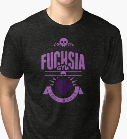 Fuchsia Gym Tri-blend T-Shirt