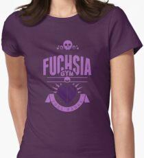 Fuchsia Gym Womens Fitted T-Shirt